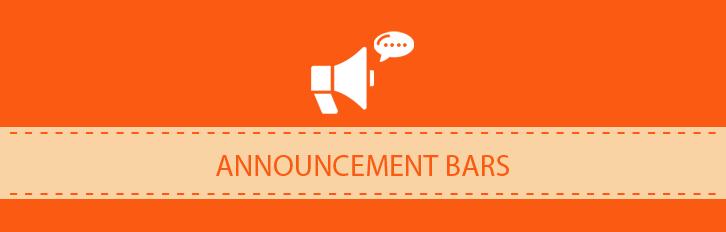 Announcement Bar - FREE